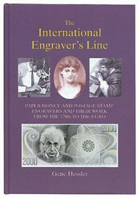 The International Engraver's Line Gene Hessler paper money stamp artists SEALED