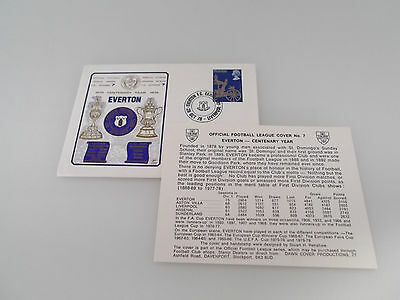 Official Football League Cover. Everton - Centenary Year 1978 - 79