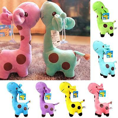 Children Wedding Birthday Animal Deer Doll Stuffed Toy 18cm Plush Giraffe Baby