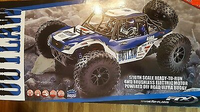 FTX Radio Control Outlaw 1/10th Scale Brushless 4WD RTR Ultra4 Racing Buggy