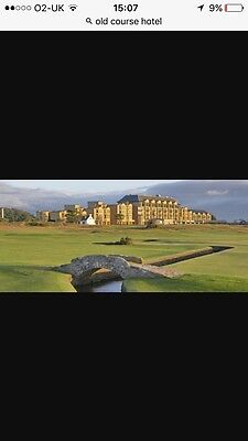Old Course Hotel St.andrews Gift Voucher
