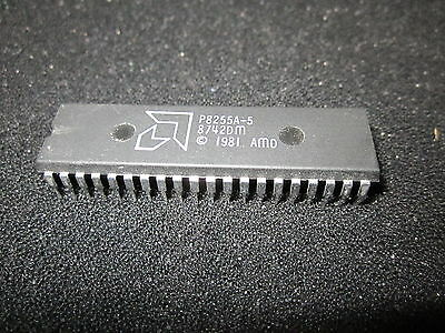 P8255A-5 AMD programmable peripheral interface integrated circuit IC DIP-40