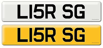 Private Personalised Cherished Number Plate Lisa RSG