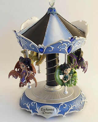 Enchanted Dreams Dragonling Carousel By Jasmine Becket-Griffith