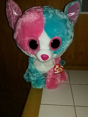 TY Beanie Boo Fiona cat Exclusive Boo - Large size - Tags attached