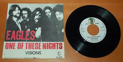 """Eagles - One Of These Nights - 1975 Belgium 7"""" Single"""