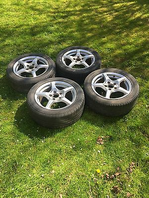 "Honda S2000 Full Set Of OEM 16"" alloy wheels with tyres"