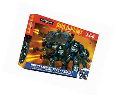 Revell GmbH Warhammer 40,000 Space Marine Heavy Assault Build and Paint Set