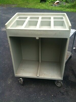 Cambro Flatware & Tray Condiment Catering Cart MAKE OFFER!!
