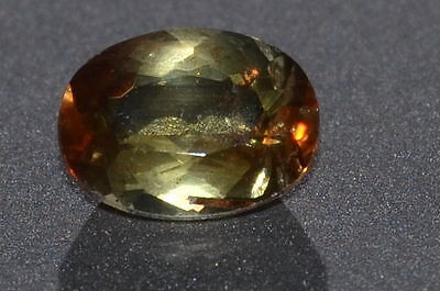 Beautiful n Rare 1.28ct VS Natural Untreated Oval Cut Andalusite Gemstone
