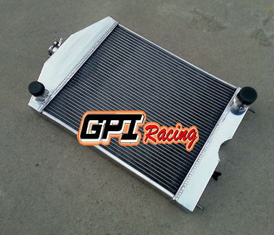 56mm Ford 2N/8N/9N tractor w/chevy 350 5.7L V8 engine 28-52 aluminum radiator