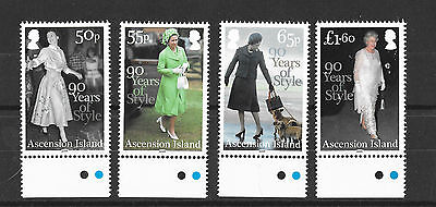 Ascension 2016  90 Years of Style MNH