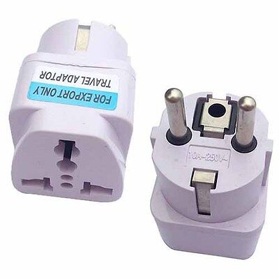 Power Plug Travel Adapter Converts Australian to Europe Bali India Germany More