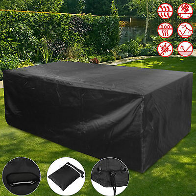 Garden Ratten Furniture Cover Extra Large Outdoor Patio Table Set Sun Protection