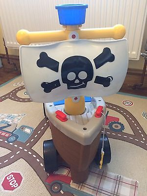 Little Tikes Play N Scoot Ride On Pirate Ship