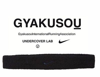 Nike X Undercover Gyakusou Narrow Head Band 811237-010