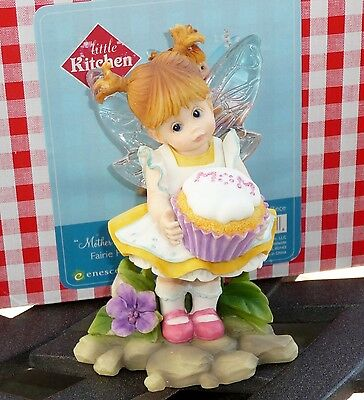 Enesco My Little Kitchen Fairies - MOTHER'S DAY CUPCAKE FAIRIE 4026838 2011 NEW