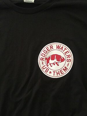 Roger Waters 2017 Us and Them Tour! Local Crew Shirt! Unworn! Unwashed! Rare