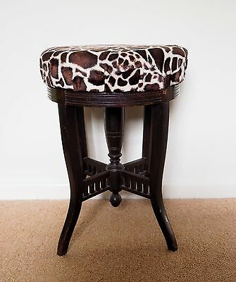 Vintage Adjustable Piano Stool – Upcycling Project?