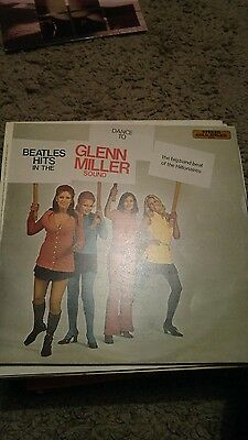 BEATLES HITS IN THE GLEN MILLER SOUND - vinyl LP - BIG BAND HILTONAIRES MER 336