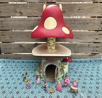 ELC Light & Sound Toadstool Toy + ELC Wonderland Fairies Included FULLY WORKING