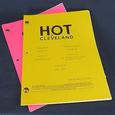 2 Shooting Scripts Hot In Cleveland TV Show Shooting Draft Episode 423 623 624