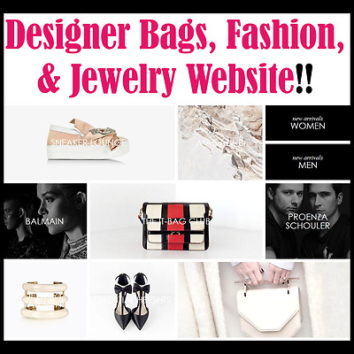 Website - Fashion & Jewelry - Internet Business - Online - For Sale -Fully Built