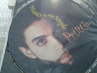 """Prince thieves in the temple 12"""" pic disc never played"""