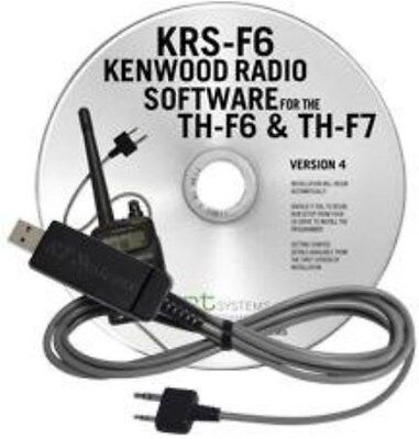 KRS-F6 USB Cable & RT Systems Software TH-F6A