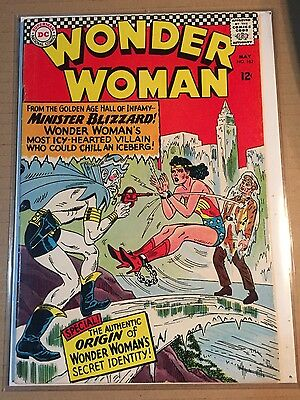 Wonder Woman 162  (1966) 6.5 Fine /FN+ Maybe FN/VF 7.0