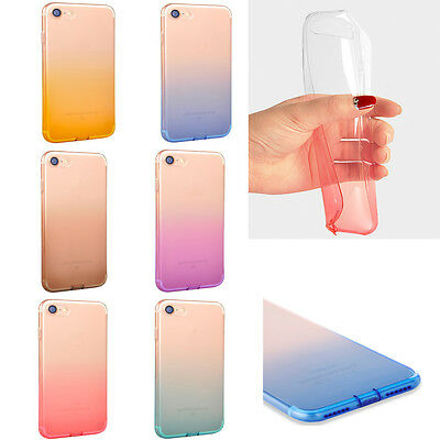 New Colorful Silicone Soft TPU iphone Case Cover For Apple iphone 6 7 6/7 Plus