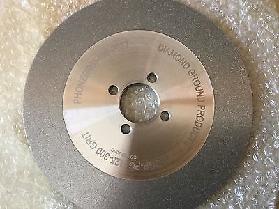 DGP-PG1425-300, Diamond Ground Products, Grinding Wheel, 300 Grit