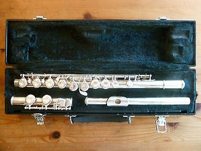 Yamaha 325II flute Solid silver ( 925 sterling ) head joint