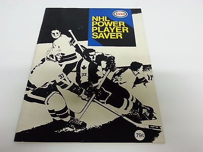 1970-71 Esso Power Players Complete Set In Soft Cover Book