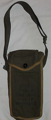 US MINT 1943 M1943 cal.45 M3 GREASE GUN SMG AMMO POUCH OD WW2 KOREA VIETNAM ARMY