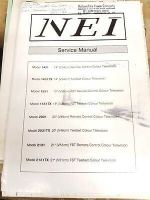 service manual for nei various models
