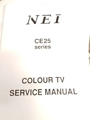 service manual for nei ce25 series