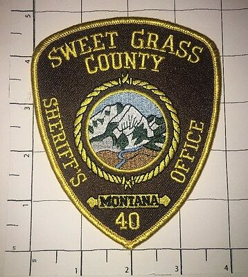 Sweet Grass Sheriff's Office Patch - Montana