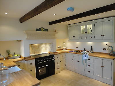 Handmade Freestanding Solid Timber Bespoke Kitchens.