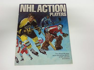 1974-75 Loblaws / Acme  Nhl Action Players Complete Hockey Stamp Set In Book