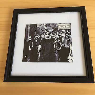 Oasis Signed / Autographed D'You Know What I Mean? CD Sleeve Framed