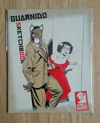 Juanjo Guarnido Sketchbook Comix Buro Blacksad NEW condition