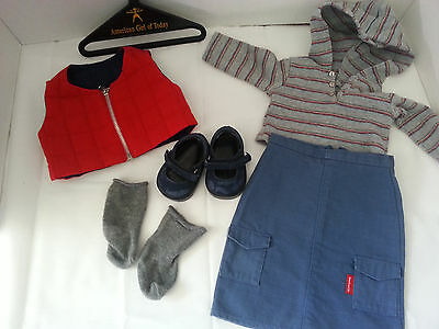 American girl doll retired -urban cargo outfit