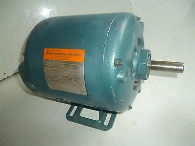 "Electric motor by Brook Crompton Parkinson: 240v  370W 1425 rpm 5/8"" spindle."