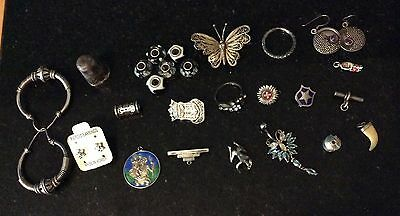 Joblot of 925/sterling silver mixed items
