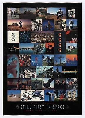 6x Pink Floyd: Still First in Space, 40th Anniversary - Postcard (6 Postcards)
