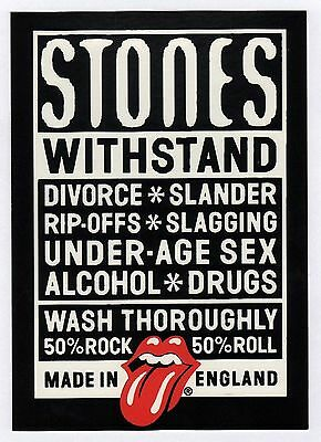 6x Rolling Stones: Withstand - Postcard (Lot of 6 Postcards)