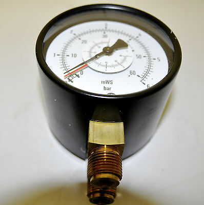 tecsis manometer 0-6 bar Differenzdruckmessgerät 0-6bar