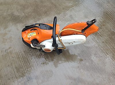 Stihl ts410 ts 410 stihl saw stone metal  year 2012 please read description