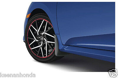 Genuine OEM Honda Civic 2dr 3dr 4dr Front Splash Guard Set 1996-1998 S01 Mud